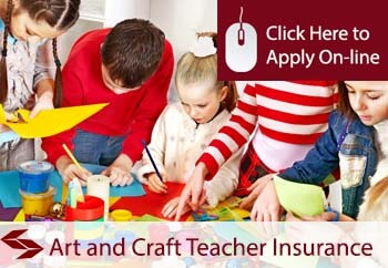 self employed arts and crafts teaching liability insurance