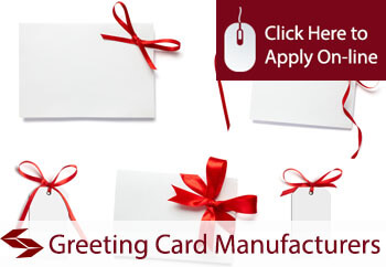 greeting card manufacturers insurance