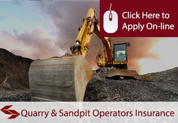 self employed quarry and sandpit operators liability insurance
