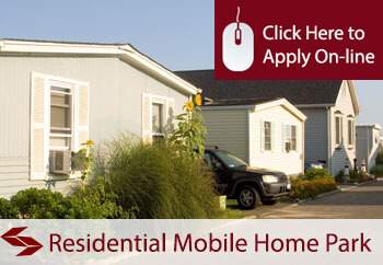 self employed residential mobile home parks liability insurance