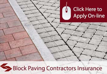 self employed block paving contractors liability insurance