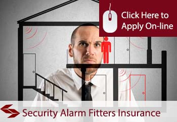 security alarm fitters insurance
