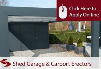 self employed domestic shed garage and carport erectors liability insurance