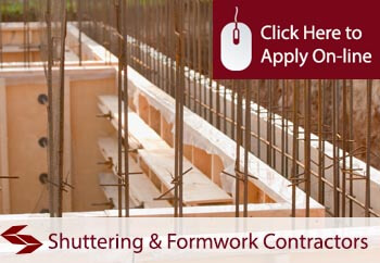 shuttering and formwork contractors insurance