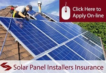 self employed solar panel installers and repairers liability insurance