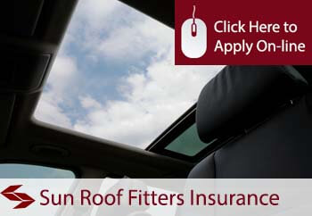Sun Roof Fitters Liability Insurance