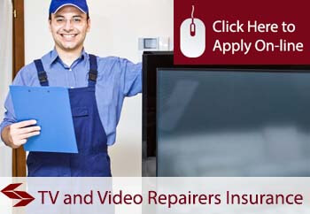 TV and video repairers tradesman insurance