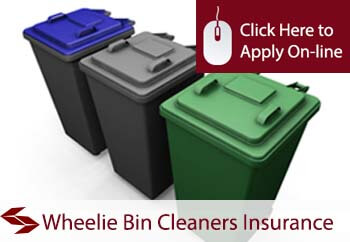 Wheelie Bin Cleaners Public Liability Insurance