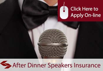 self employed after dinner speakers liability insurance
