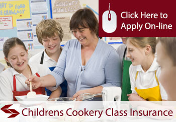 self employed childrens cookery teachers liability insurance