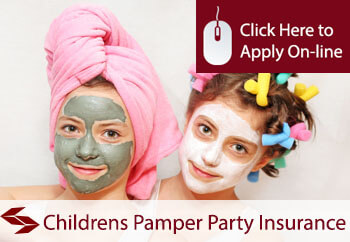 self employed childrens pamper parties liability insurance