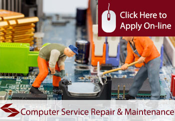 self employed computer repair service and maintenance engineers liability insurance