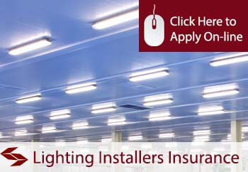 lighting installers tradesman insurance