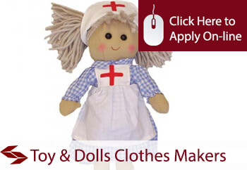 Toy and Dolls Clothes Makers Employers Liability Insurance