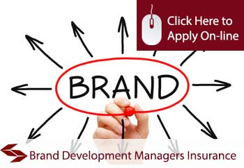 self employed brand development managers liability insurance