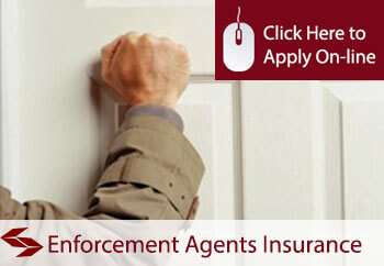 self employed enforcement agents liability insurance