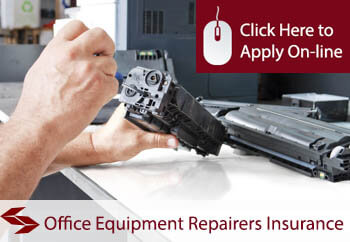 office equipment service and repairers tradesman insurance