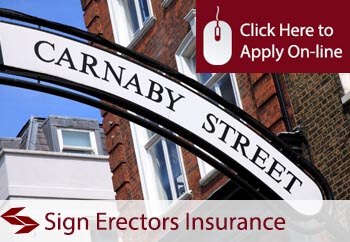 Sign Erectors Liability Insurance