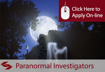 self employed paranormal investigator liability insurance