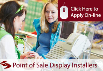 point of sale display installers tradesman insurance