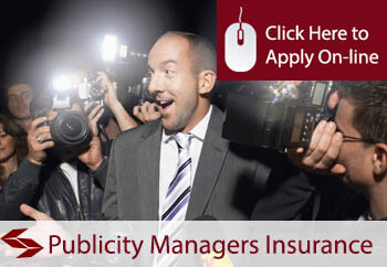 self employed publicity managers liability insurance