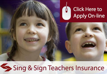 self employed sing and sign teachers liability insurance