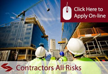 contractors al risks insurance