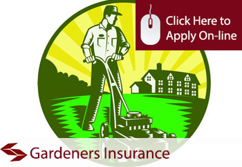 garden services tradesman insurance