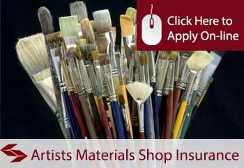 Artist Materials Shop Insurance