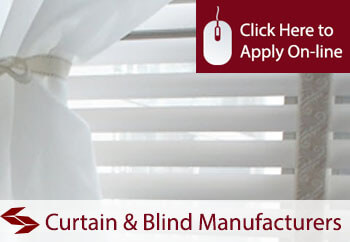 curtain and blind manufacturers liability insurance