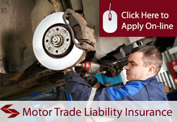 Motor Trade Garage Services Employers Liability Insurance