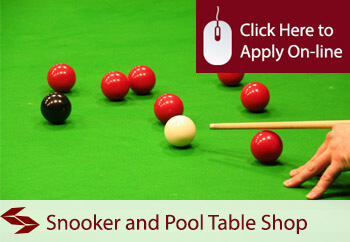 Pool And Snooker Table Shop Insurance