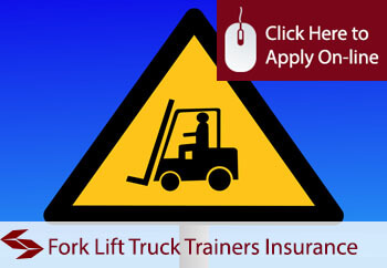 Fork Lift Truck Trainers Professional Indemnity Insurance