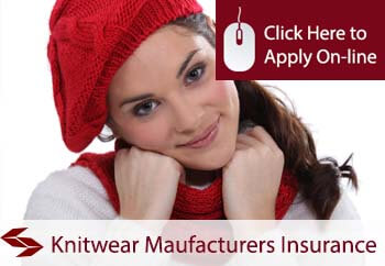 self employed knitwear manufacturers liability insurance