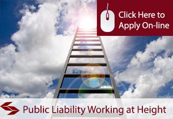 public liability insurance for working at height