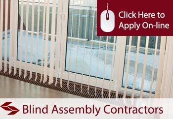 blind assembly contractors tradesman insurance