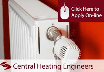 Self Employed Central Heating Engineer Liability Insurance