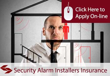 self employed security alarm installers liability insurance
