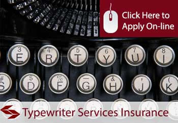 self employed typewriter services liability insurance