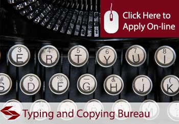 self employed typing and copying bureau liability insurance