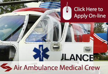 self employed air ambulance crew members liability insurance