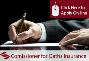 self employed commissioners for oaths liability insurance