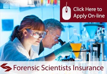self employed forensic scientists liability insurance