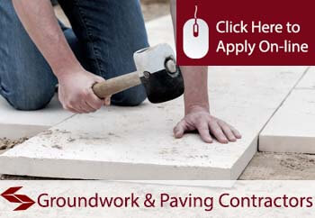 tradesman insurance for groundwork and paving contractors