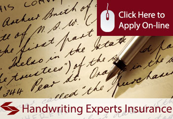Handwriting Experts Public Liability Insurance