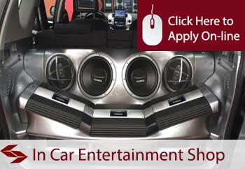 In Car Entertainment Shop Insurance