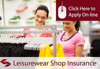 Leisurewear Shop Insurance