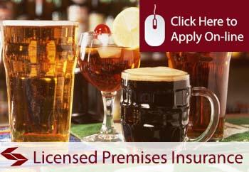Licensed Premises Shop Insurance