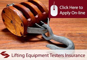 Lifting Equipment Testers Public Liability Insurance