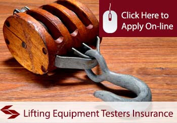 Lifting Equipment Testers Public Liability Insurance